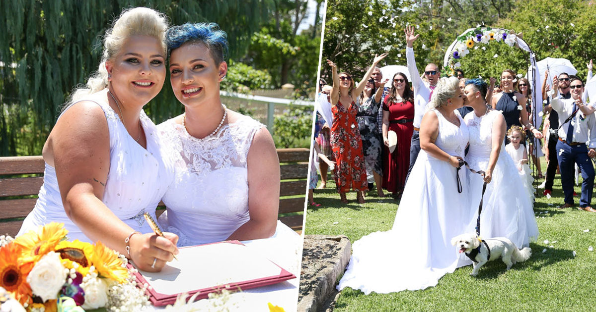 Australia's First Official Gay Marriage Has Taken Place