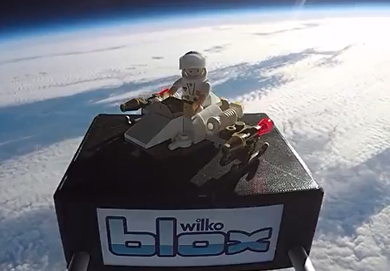 Kids Send Toy Astronaut To Edge Of Space Wilko Blox A
