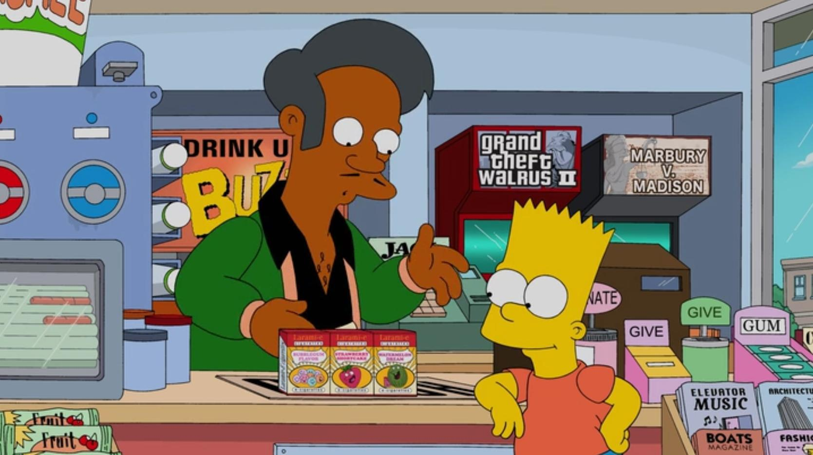 Big Changes Are Coming To A Major Character In The Simpsons bart vapes