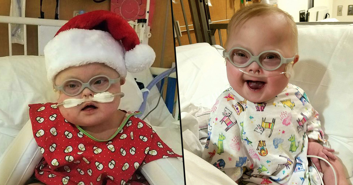 Downs Syndrome Baby Dies In Mothers Arms Weeks Before Second Birthday colton fb