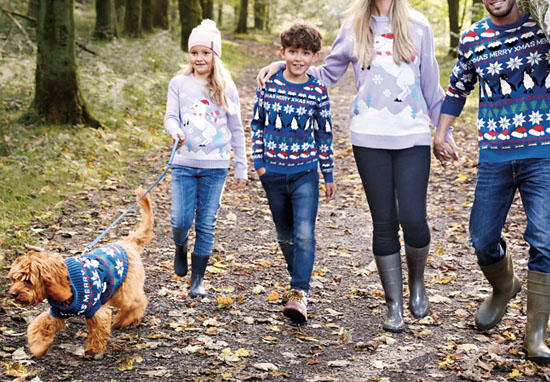 Aldi Releases Matching Christmas Jumpers For You And Your Dog dog christmas jumper a