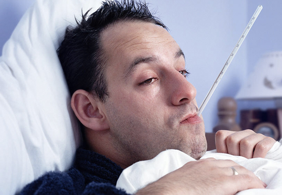 Man Flu Is Real, Study Says flu1