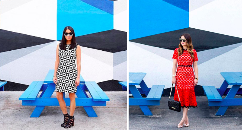 Mystery Over Bloggers Identical Instagram Accounts identical insta blue geo
