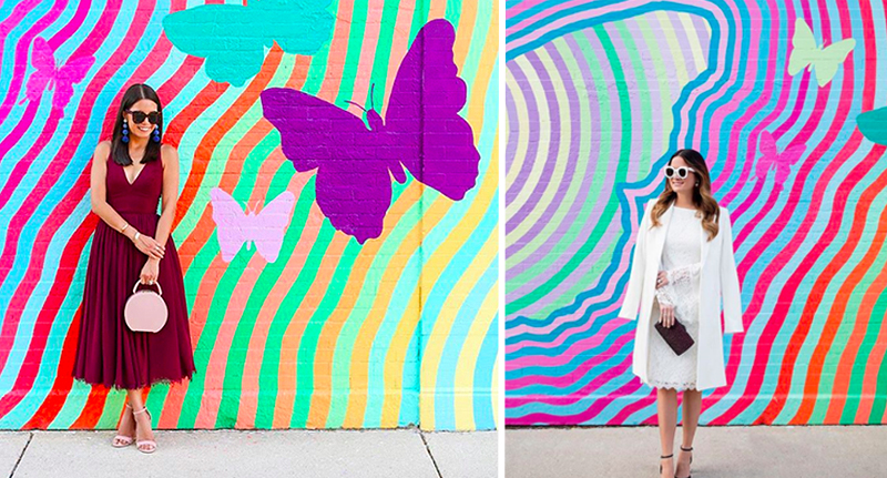 Mystery Over Bloggers Identical Instagram Accounts identical insta butterfly