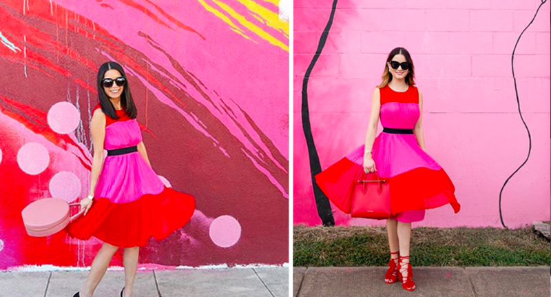 Mystery Over Bloggers Identical Instagram Accounts identical insta colour block