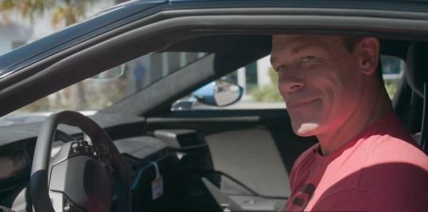 Ford Sues John Cena For Selling $500,000 GT Supercar john cena in a car