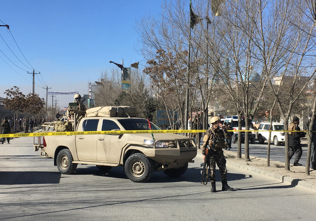 At Least 40 Dead In Suicide Attack In Afghanistan kabul GettyImages 899193314