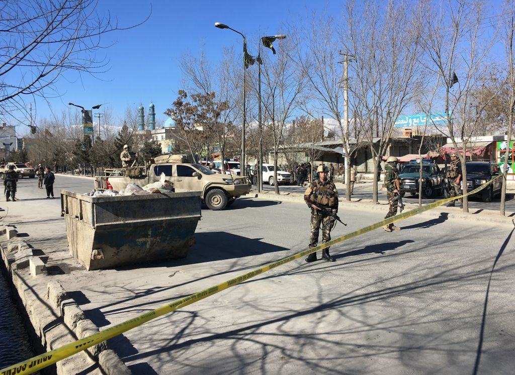 At Least 40 Dead In Suicide Attack In Afghanistan kabul GettyImages 899193316