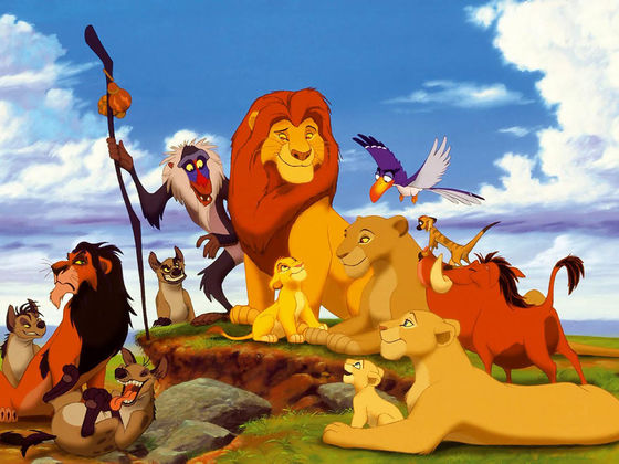 The Lion King Named Best Animated Film Ever lion king web