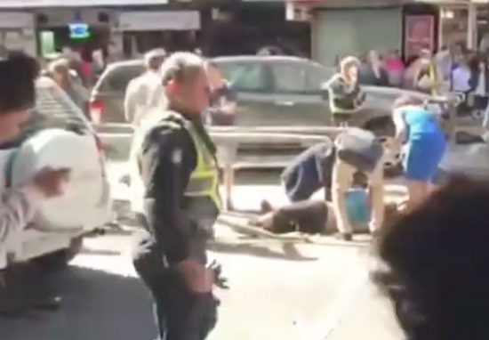 Car Ploughs Into Dozens Of People In Melbourne City Centre melbourne