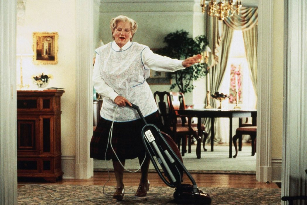 Robin Williams Voted Greatest Comedy Actor Ever mrs doubtfire 1048x700