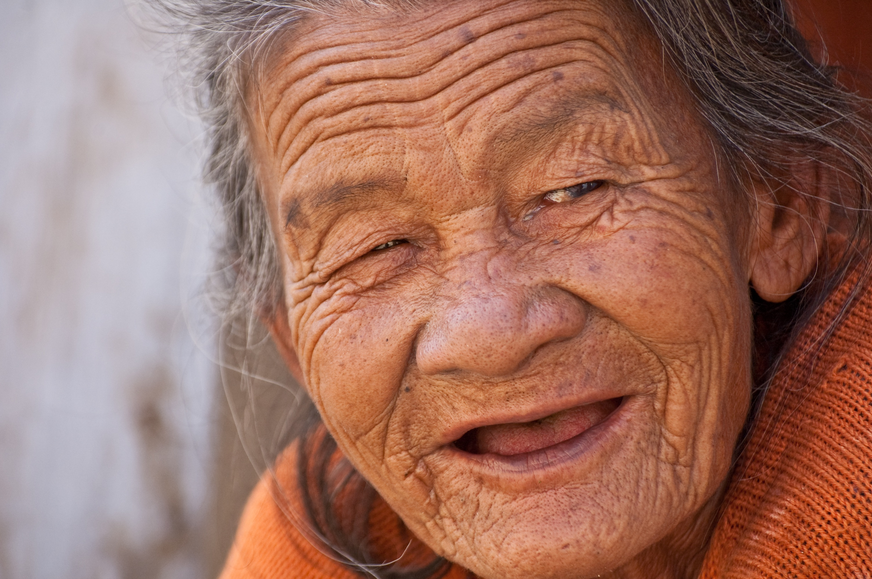 Researchers Say Theyve Found A Way To Stop Humans Ageing old lady smile beautiful woman