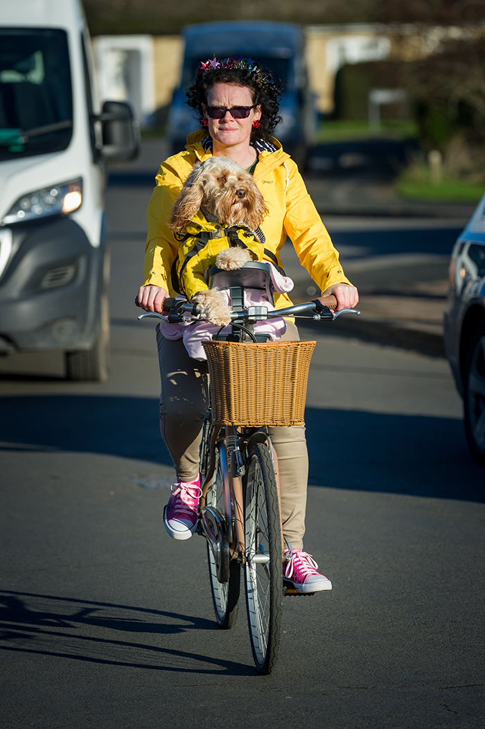 Woman Spends Over £1,000 On Christmas Presents For Her Dog resize bike barking mad bri 78990