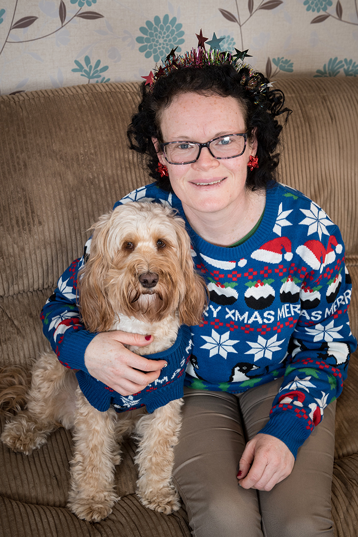 Woman Spends Over £1,000 On Christmas Presents For Her Dog resize jumper barking mad bri 79005