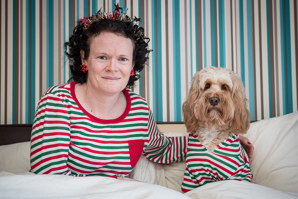 Woman Spends Over £1,000 On Christmas Presents For Her Dog resize stripes barking mad bri 79009