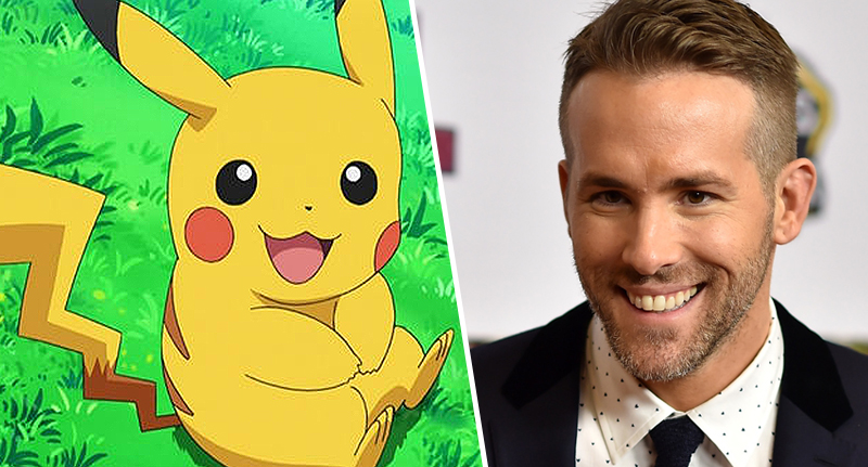Ryan Reynolds To Play Pikachu In Upcoming Pokémon Live-Action Film