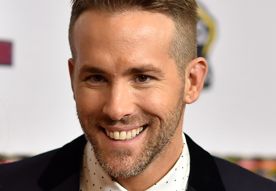 Actor and star of Deadpool Ryan Reynolds