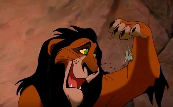 The Lion King Named Best Animated Film Ever scar