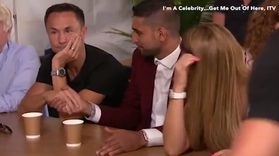 I'm A Celeb Fans Furious After New Behind The Scenes Footage Released shake 1