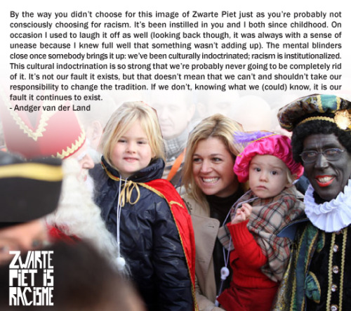 Blackface Christmas Tradition In The Netherlands Branded Racist zwartepietisracisme tumblr