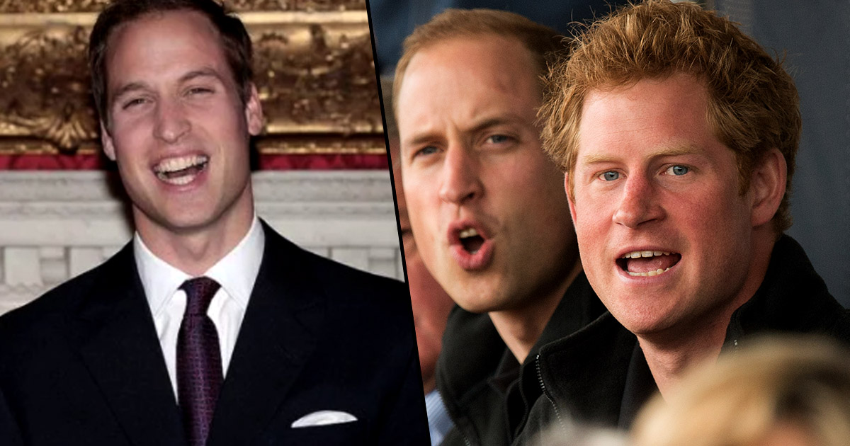 Prince William Shaved Head After Outrageous Bet With Brother Harry 991z