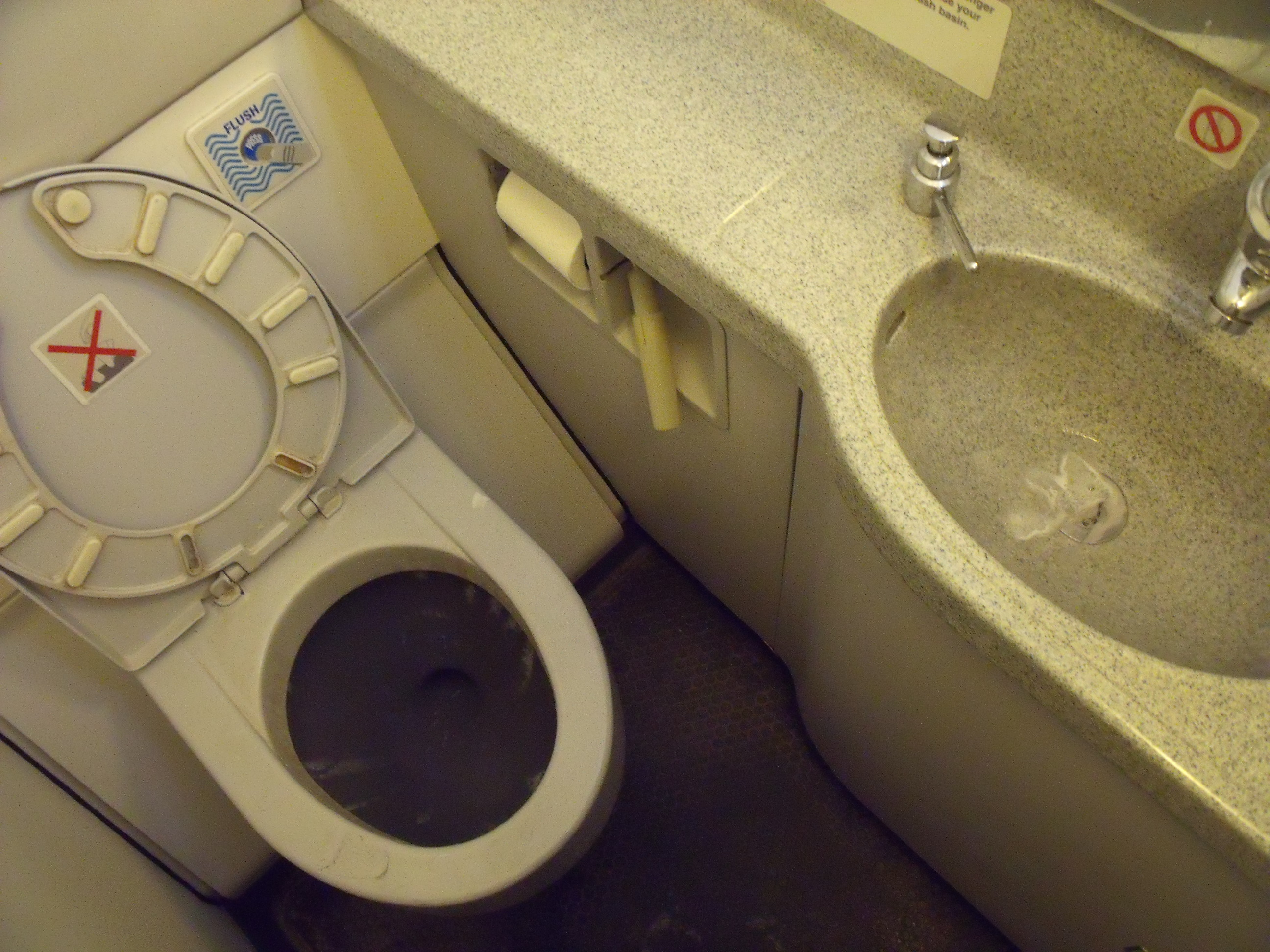 Frozen Airplane Poo Causes Mass Confusion Among Villagers Aircraft Lavatory