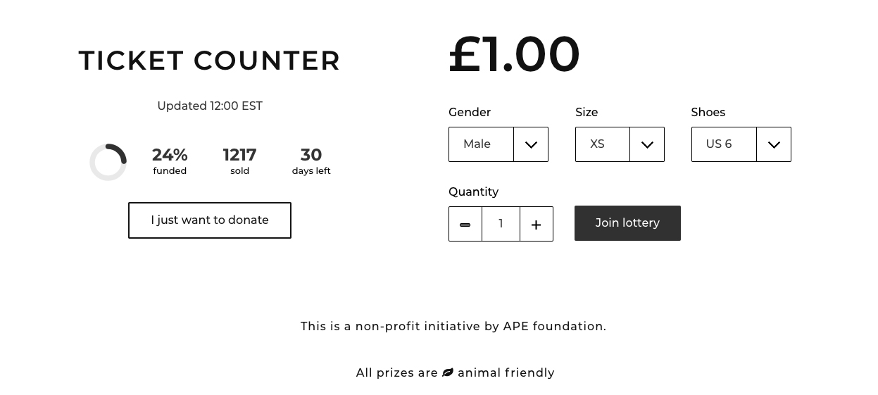 There Is A Lottery That Lets You Win Streetwear And Save Monkeys Ape