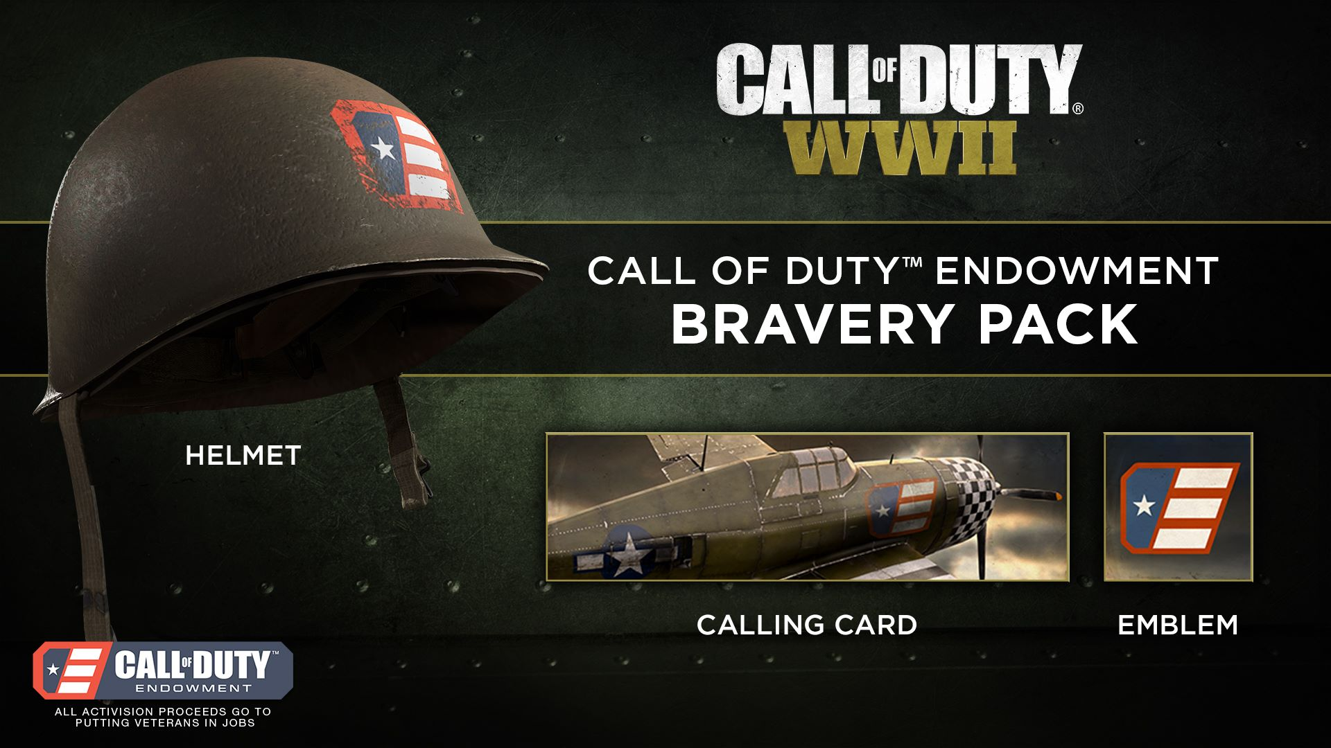 Call Of Duty Endowment Awards $30,000 To Major UK Charities Bravery Pack
