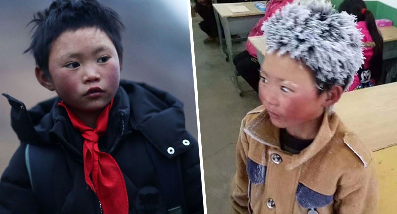 Boy Whose Hair Froze Walking To School Gets £245,000 In Donations