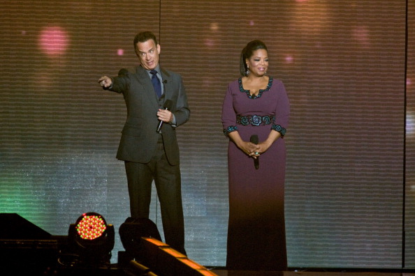 Internet Calls For A Tom Hanks And Oprah White House GettyImages 131808354