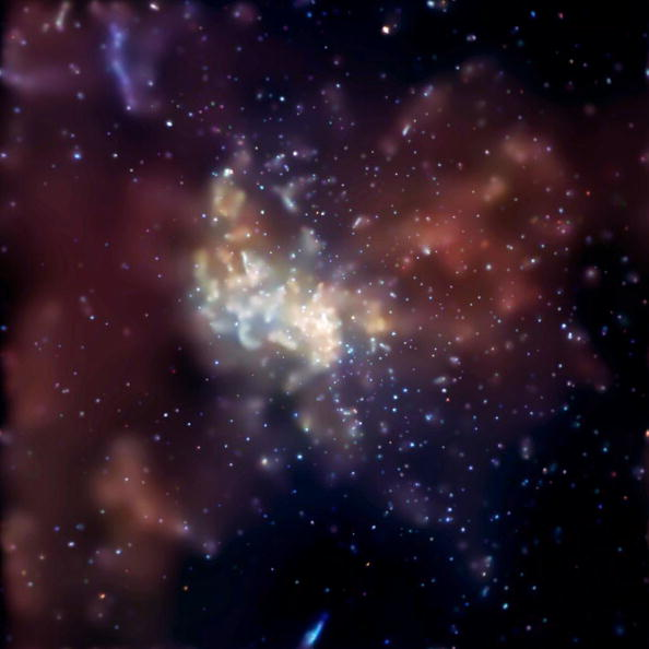 Supermassive Black Hole Burps Out Gas Its Eaten Over Last 100,000 Years GettyImages 1710881