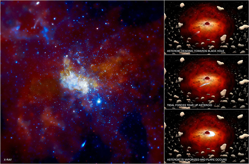 Supermassive Black Hole Burps Out Gas Its Eaten Over Last 100,000 Years GettyImages 593348940