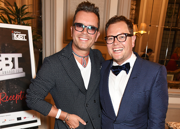 Alan Carr Marries His Partner Of Ten Years GettyImages 682364822