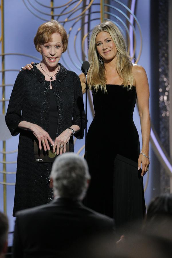 Awkward Moment Angelina Jolie Completely Blanked Jennifer Aniston At Golden Globes GettyImages 902730872 1