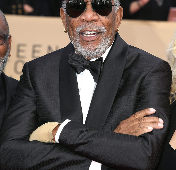 Tragic Reason Morgan Freeman Wore One Glove To The SAG Awards