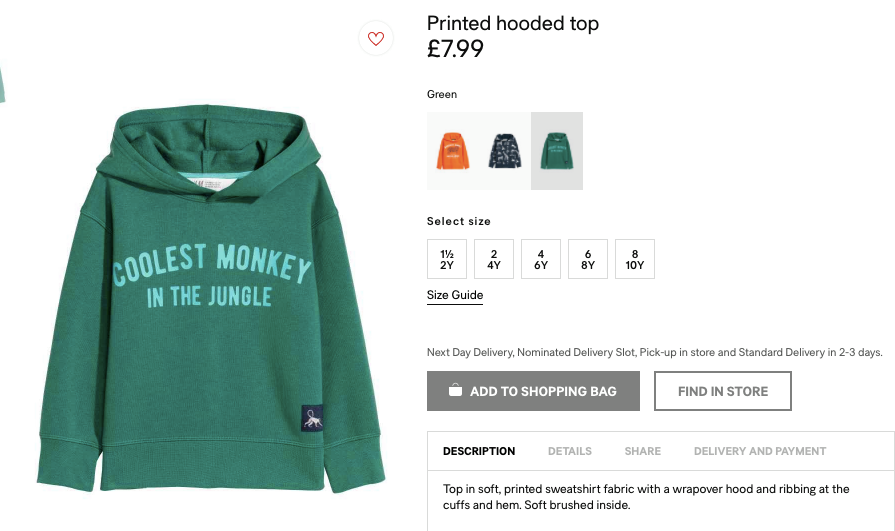 H&M Face Huge Backlash After Posting Racist Jumper Advert On Website H AND M