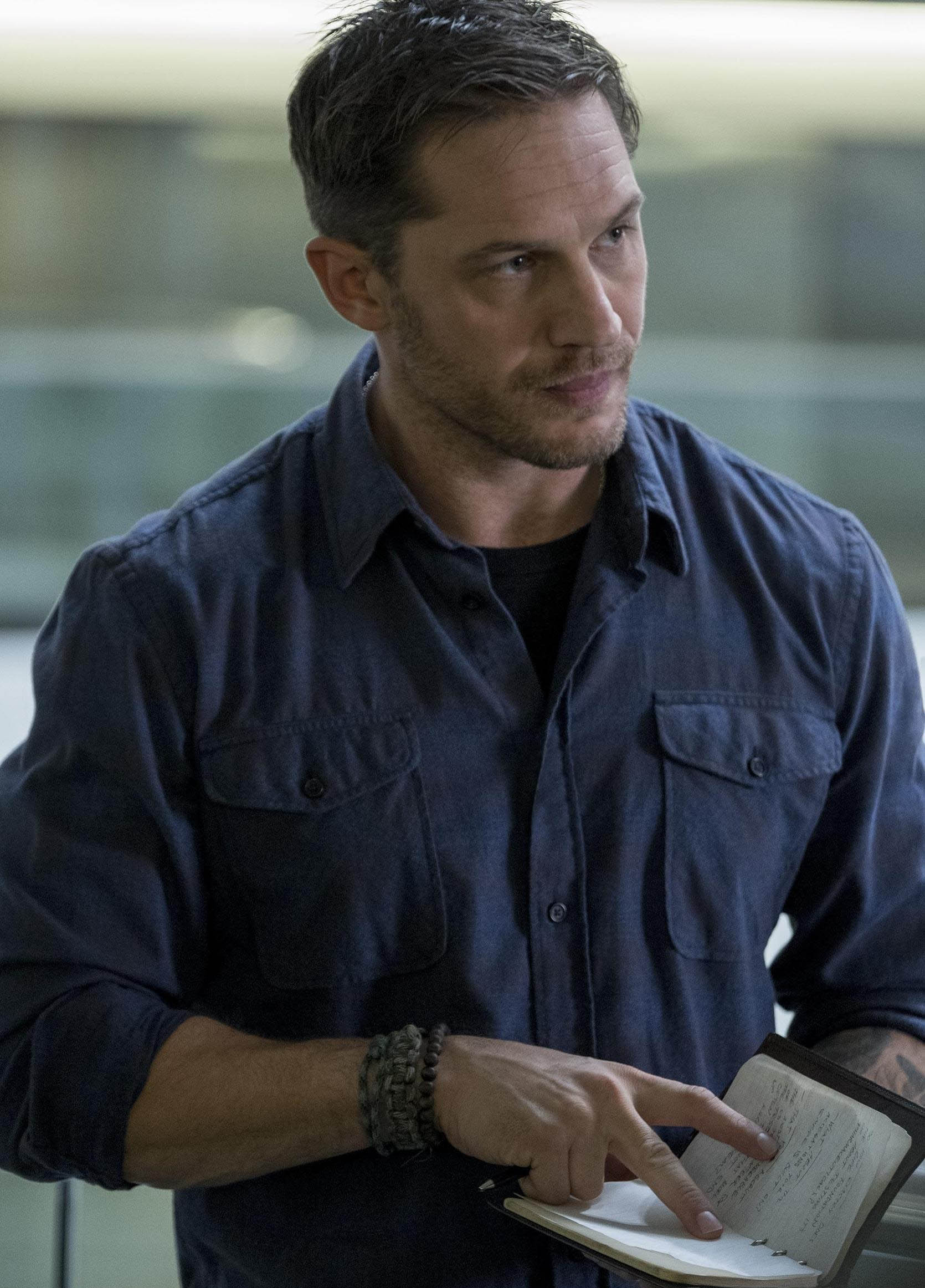 Hidden Plot Details Revealed By First Look At Tom Hardy In Venom Hardy Venom IGN