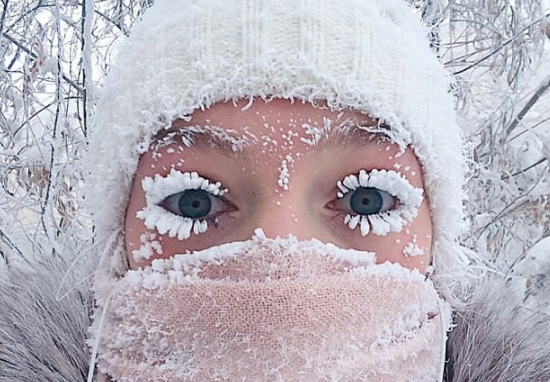 Freezing  62C Weather Breaks Thermometer In Worlds Coldest Village Ice web