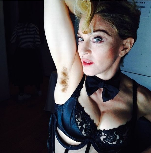 Madonnas Daughter Shows Off Armpit Hair And The Internet Cannot Handle It Madonna