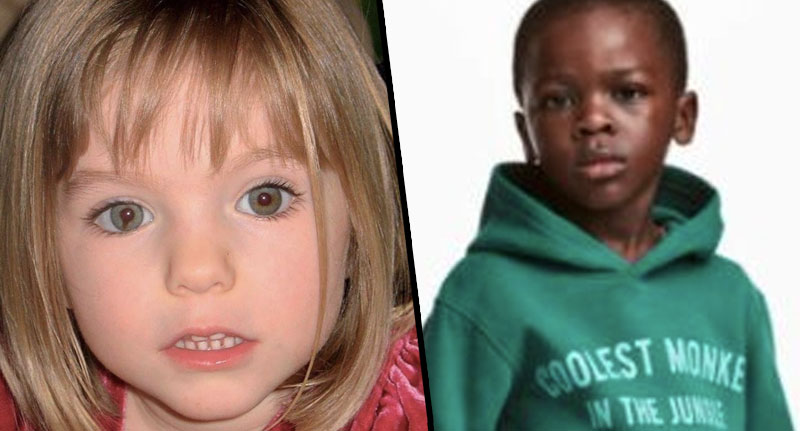 Sick Troll Slammed For Horrific Maddie McCann H&M Picture Mcann HM