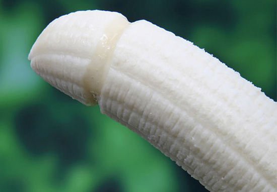 penis shaped banana