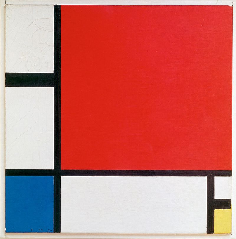 Company Posts Hilarious Advert For New Graphics Designer Piet Mondriaan 1930   Mondrian Composition II in Red Blue and Yellow 1