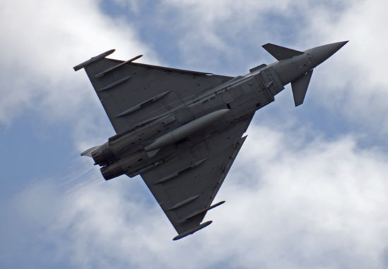 RAF Typhoon Fighters Scrambled To Intercept Russian Planes In UK Airspace RAF typhoon