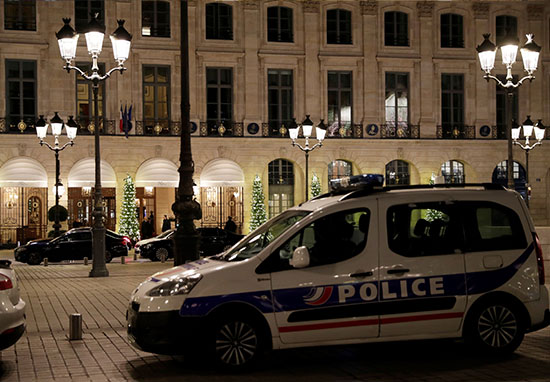 €5 Million Of Jewellery Stolen During Armed Heist At Ritz Hotel Paris RitzRobbery3