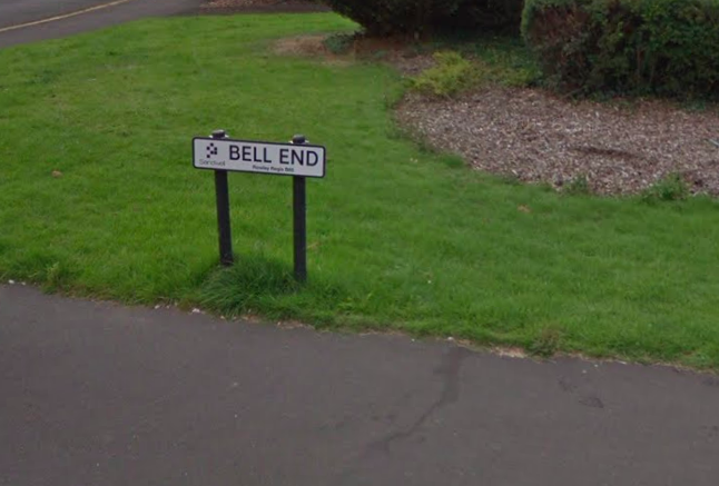 Residents Of Bell End Want Name Changed As People Call Them Bell Enders Screen Shot 2018 01 02 at 12.08.26