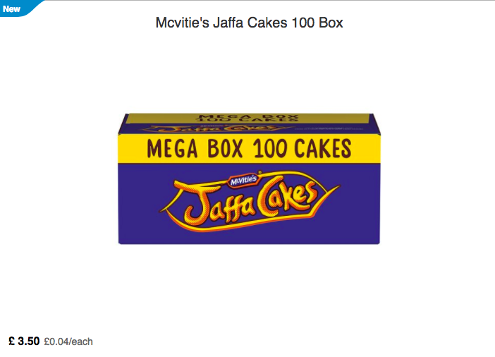 Tesco Selling Boxes Of 100 Jaffa Cakes For Only £3.50 Screen Shot 2018 01 26 at 12.13.51