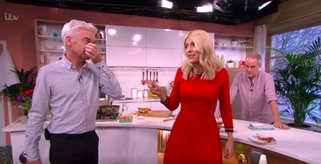 Holly And Phil Pull Hilarious Hangover Prank After NTA Win Screenshot 2018 01 24 10 47 38