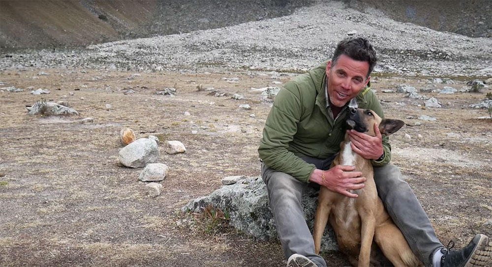Steve O Flies To Peru To Find And Adopt A Street Dog Steve O and Wendy