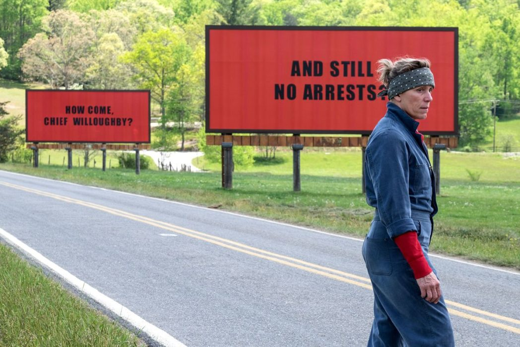 Film Fans Furious After Blatant Snub In Oscars Nominations THREE BILLBOARDS 1048x700