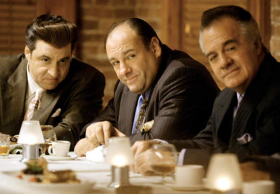 Tony Soprano, Paulie and Silvio